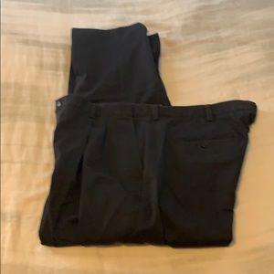 Men's LL Bean Navy chinos comfort waist 42/29